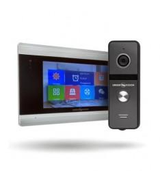 Комплект AHD видеодомофона + Вызывная панель Green Vision GV-055+GV-003
