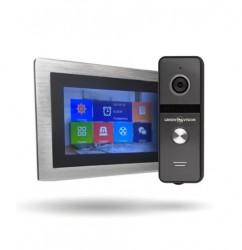 Комплект AHD видеодомофона + Вызывная панель  Green Vision GV-056+GV-003