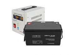Источник бесперебойного питания с батареей Logic Power 500/65 AGM White