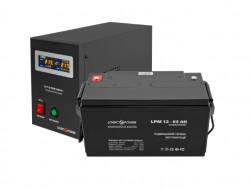 Источник бесперебойного питания с батареей Logic Power 500/65 AGM Black