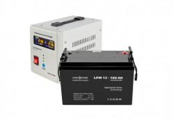 Источник бесперебойного питания с батареей Logic Power 500/100 AGM White