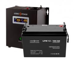 Источник бесперебойного питания с батареей Logic Power VA500/100 AGM