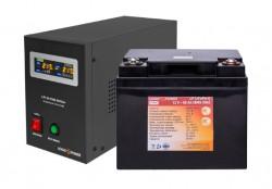 Источник бесперебойного питания с литиевой батареей Logic Power 500/50 Lifepo4 Black