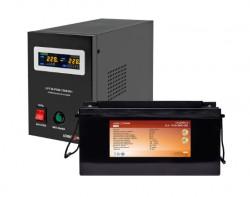 Источник бесперебойного питания с литиевой батареей Logic Power VA1500/90 Li Black