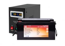 Источник бесперебойного питания с литиевой батареей Logic Power VA1000/200 LiBlack