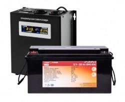 Источник бесперебойного питания с литиевой батареей Logic Power VA1000/200 LiWallSET