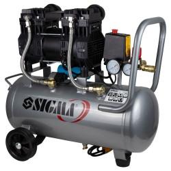 Двухцилиндровый безмасленый компрессор Sigma 1500/30