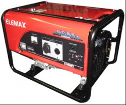 Газовый генератор Honda-Elemax SHG5000EX