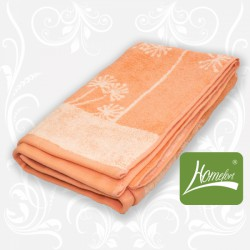 Полотенце махровое Homefort Ларами-коралл