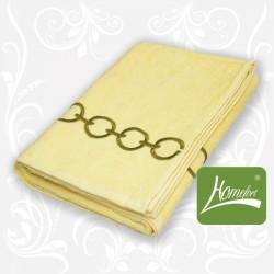 Полотенце махровое Homefort Браслет желтый