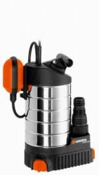 Дренажный насос для откачки воды досуха Gardena 21000 inox Premium