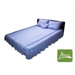 """Покрывало для кровати Homefort комплект цвета """"Светло-сиреневый"""""""