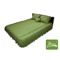 """Покрывало для кровати Homefort комплект цвета """"Оливковый"""""""