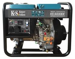 Дизельный генератор Könner&Söhnen KS 6000DE