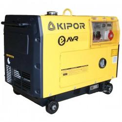Дизельный генератор Kipor KDE7000TD
