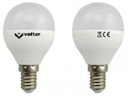 Светодиодная лампочка Volter G45 5W 3000K E27