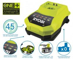 Зарядное устройство Ryobi ONE+ BCL14181H