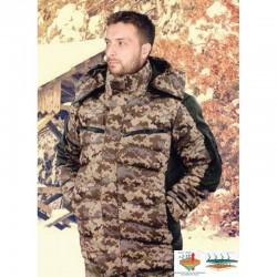 Куртка зимняя для охоты и рыбалки Alex MB SF-1 Mars