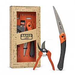 Набор садовода Bahco секатор+ножовка
