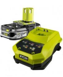 Комплект: Зарядное+АКБ Ryobi ONE+ RBC18L15