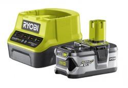 Зарядное устройство+1АКБ Ryobi ONE+ RC18120-140