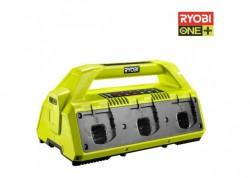 Зарядное устрой на 6 аккумуляторов Ryobi ONE+ RC18-627