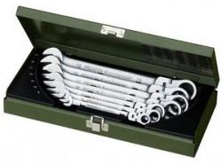 Набор комбинированных гаечных ключей с поворотной торцевой головкой Proxxon MicroSpeeder 7SET