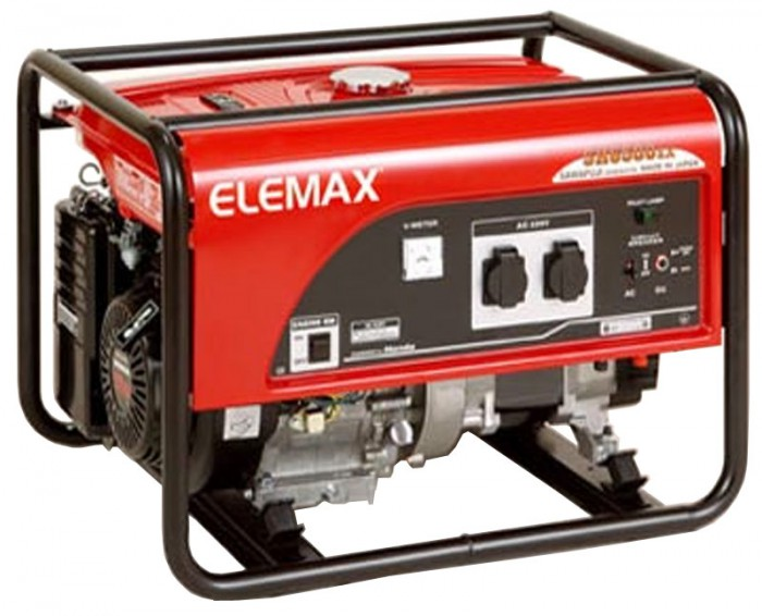 Elemax бензиновый генератор сварочный аппарат сспт 315