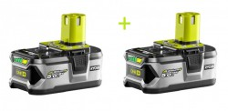 Набор аккумуляторов Ryobi ONE+ RB18LL50