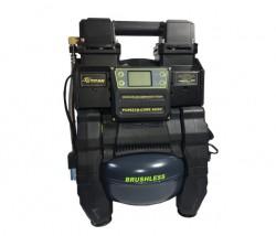 Аккумуляторный гибридный компрессор Титан ПЦ 8621B CORE/ACDC