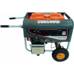 Бензиновый генератор Sunshow SS6600EW