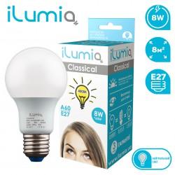 Светодиодная LED лампа ILUMIA 8W/4000K/E27