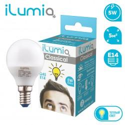 Светодиодная LED лампа с узким цоколем ILUMIA 5W/3000K/E14
