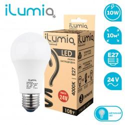 Светодиодная LED лампа 24V ILUMIA 10W/4000K/E27