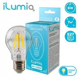 Декоративная LED лампа ILUMIA 059 LF-6-A60-E27-WW Antiquities